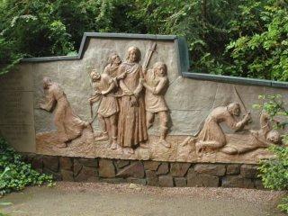 Jesus at his capture