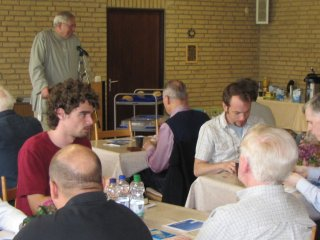 Men's group afternoon fellowship